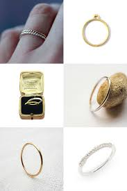 thin wedding bands ultra thin wedding bands mollie makes