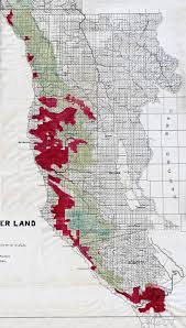 Sonoma State Map by Coast Redwood Range And Biogeography