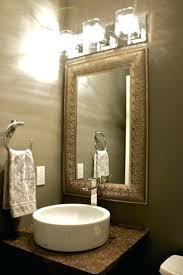 poder room powder room wallpaper bathroom design wonderful pedestal sink
