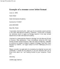 outline of a cover letter letter format outlinecover letter how