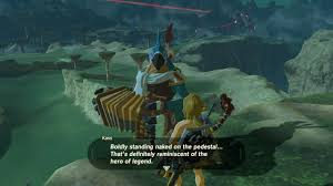 botw spoilers guess this means link was a nudist in the past