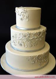 silver wedding cakes silver white wedding cake wedding cakes