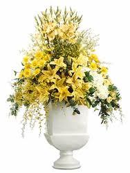 Artificial Lilies In Vase 66
