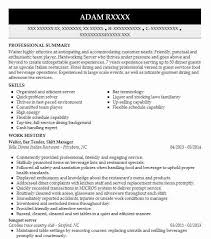 Food And Beverage Manager Resume Sample by Best Restaurant Shift Manager Resume Example Livecareer