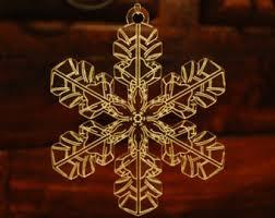 acrylic snowflakes etsy