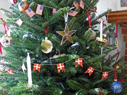 Pine Tree Flag Our Christmas Tree With Danish And American Flags 2010 My Danish