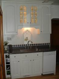 Above Cabinet Lighting by Ideas For Wall Over Kitchen Sink Tiffany House Design
