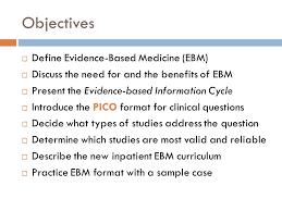 evidence based medicine at st barnabas hospital ppt