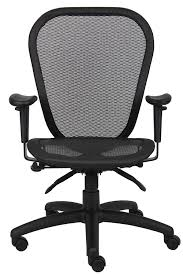 Ergonomic Office Chairs With Lumbar Support Amazon Com Boss Office Products B6018 Mulit Function Mesh Task
