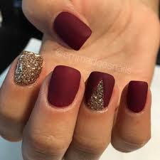 100 most popular spring nail colors of 2017 matte nails gold