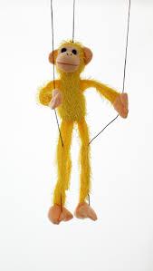 string puppet fuzzy monkey animal marionett string puppet puppet factory