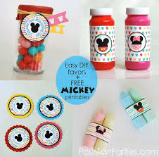 Cheap Favor Ideas For Birthday by Best 25 Mickey Mouse Favors Ideas On Mickey