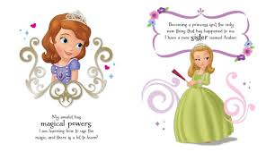 disney sofia princess storybook amulet