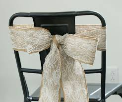 bows for wedding chairs diy how to make a chair bow 4 steps