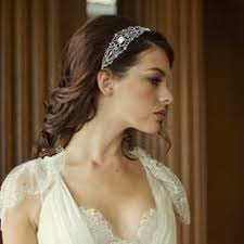 bijoux tete mariage serre tête headband bijoux de tête ivoire coiffure mariée
