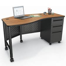 Computer Desk For 2 Balt Instructor S Desk 2 58351 Desks