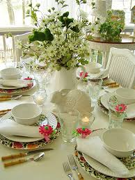 Table Setting Chargers - easter or spring table setting with kim parker emma u0027s garland