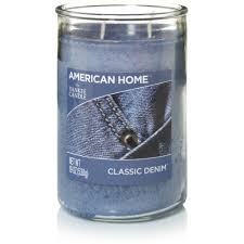 american home by yankee candle classic denim 19 oz large 2 wick