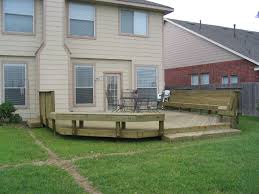 Deck Bench Bracket Image Deck And Fence Pricing