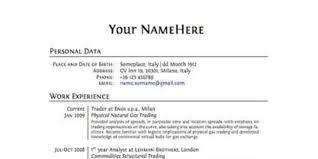 proper format of resume proper resume format resume templates