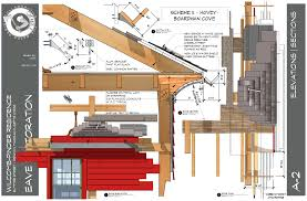 layout sketchup coved eave drawings tbdc sketchup layout sketchup pinterest