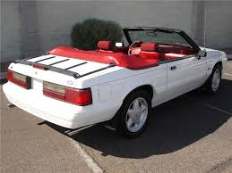 1992 ford mustang 1992 ford mustang convertible 81349