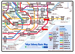 Tokyo Subway Map by Tenkai Japan Cool Japan Guide Travel Shopping Fashion J Pop