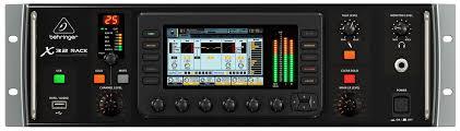 Audio Rack Case Behringer X32 Rack Digital Mixer With Skb Rack Case Pssl