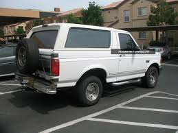 white bronco car ford bronco 1994 review amazing pictures and images u2013 look at