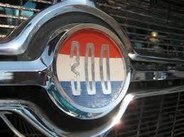 1963 chrysler 300 indy pace car front grill emblem