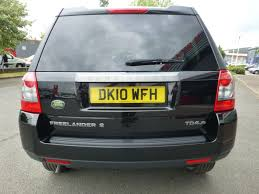 used black land rover freelander for sale cheshire