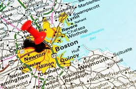 boston city map boston city on map stock photo lucianmilasan 11561279