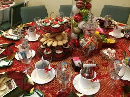 christmas tea party christmas tea party table decorations my diy projects