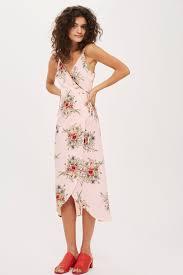 topshop dress strappy floral wrap dress topshop