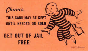 shortage of get out of free cards hinders prisoner release