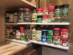 Spice Rack In A Drawer Spice Racks Cabinet Spice Rack Drawers Pull Out Spice Racks