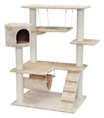 amazon com iris 4 tier cat tree condo cat clubhouse pet supplies