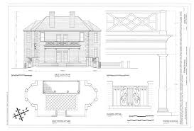 file east elevation east portico plan portico detail and