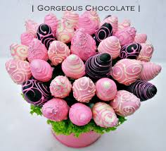 chocolate covered strawberry bouquets my gorgeous chocolate dipped strawberry bouquet in vase