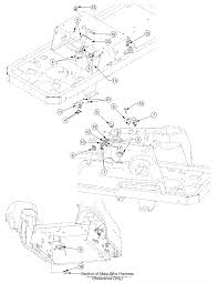 troy bilt 17af2acp766 mustang rzt 50 2007 parts diagrams