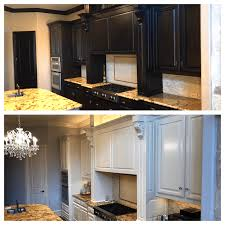 painting your kitchen cabinets before and after kitchen cabinet painting the correct method plasters of