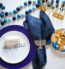 hanukah decorations modern hanukkah decorations for the modern and