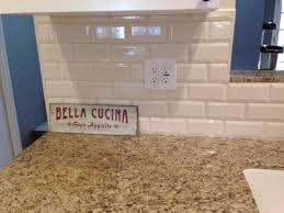 Best Kitchens Images On Pinterest Beveled Subway Tile - Beveled subway tile backsplash
