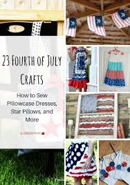Fourth Of July Tablecloths by 23 Fourth Of July Crafts How To Sew Pillowcase Dresses Star