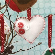 christmas decorations made of felt christmas felt ornaments birds