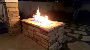 amazing ideas natural gas firepit excellent outdoor stone fire pit