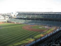 Chicago Cubs Map by Wrigley Field Section 403 Chicago Cubs Rateyourseats Com