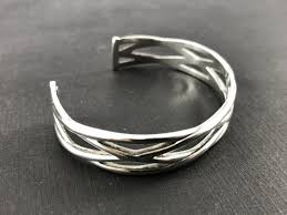 silver weave bracelet images Tiffany co sterling silver weave knot cuff bracelet queen may jpg