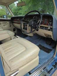 rolls royce blue interior 1981 rolls royce silver shadow ii for sale classic cars for sale uk