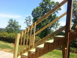 Replacing A Banister And Spindles Deck Railing And Stairs
